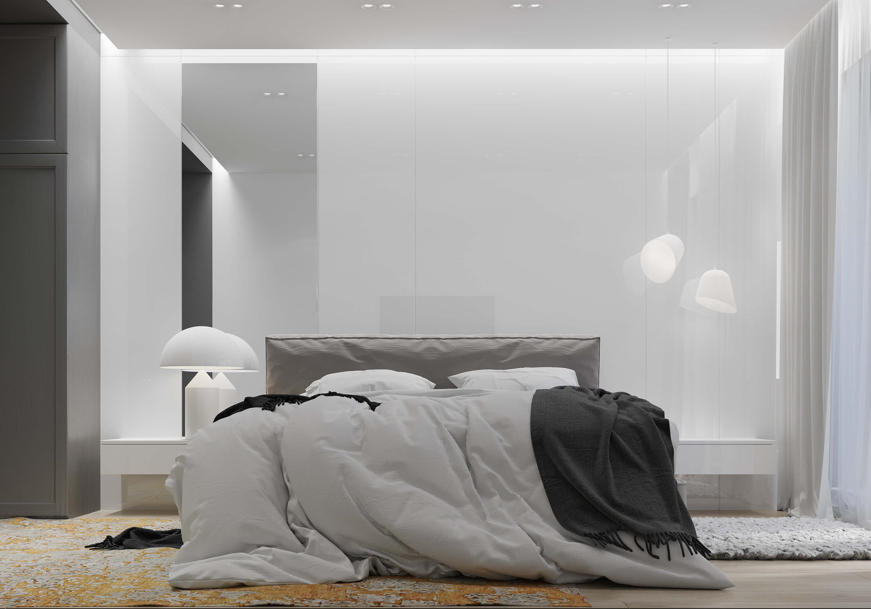 спальня в стилі мінімалізм