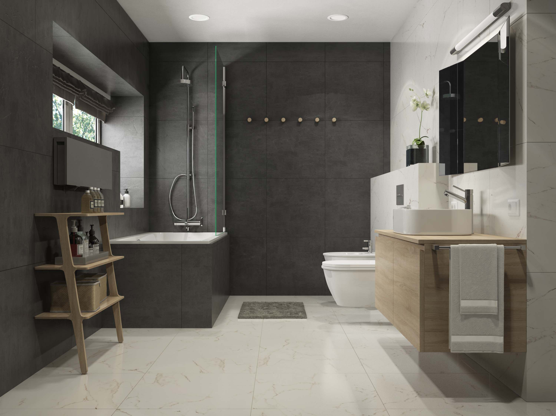 ванна кімната у стилі мінімалізм