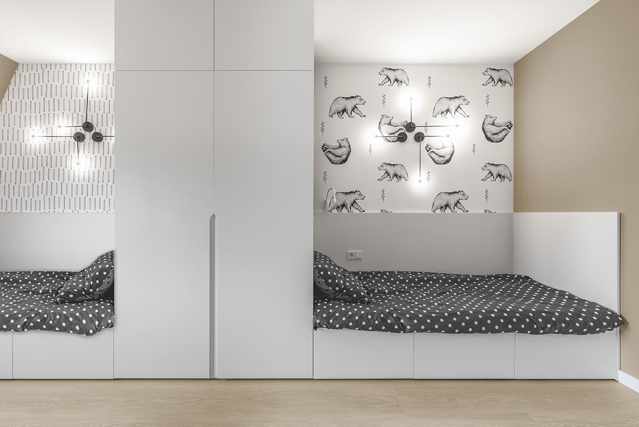 дитяча кімната у стилі мінімалізм