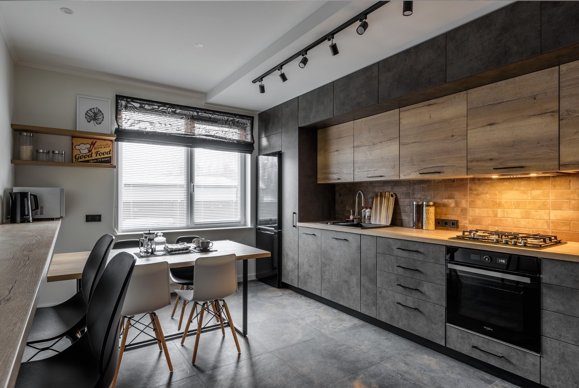 дизайн інтер'єру кухні студії
