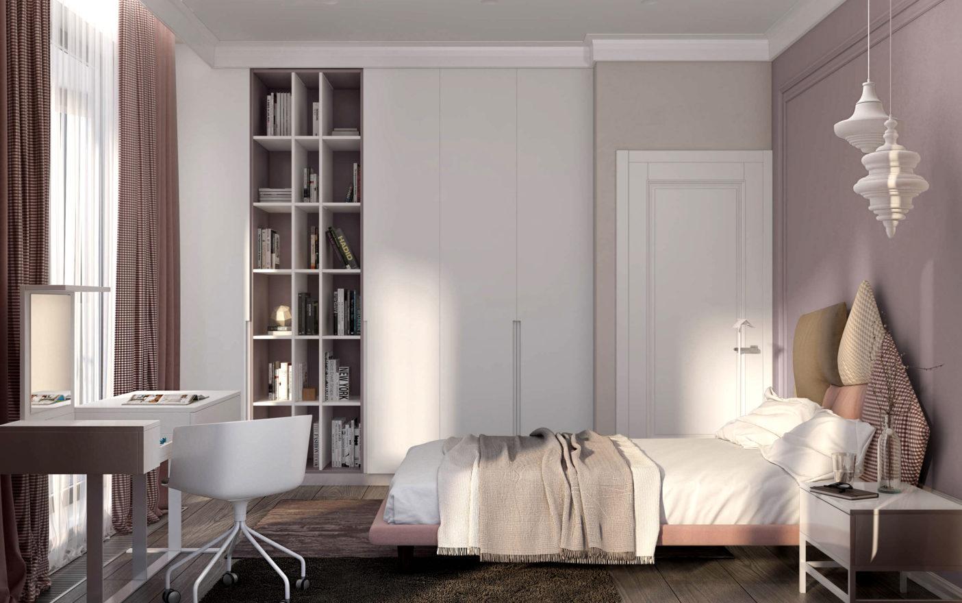 дитяча кімната для дівчини підлітка