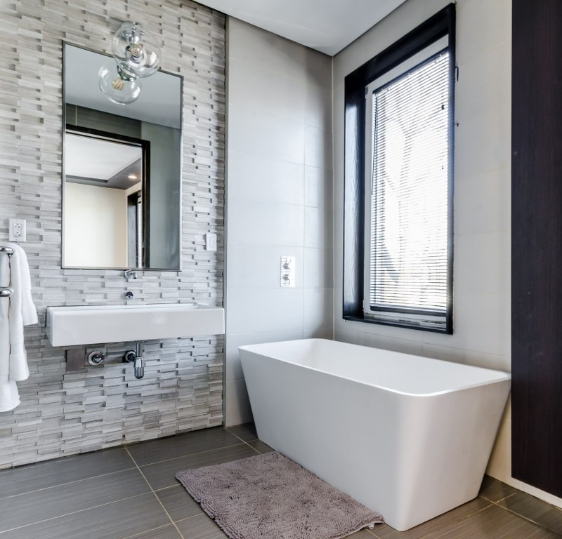 дизайн інтер'єру ванної кімнати в квартирі